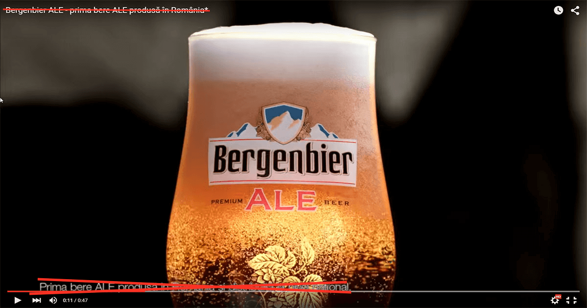 Bergenbier ALE modificat