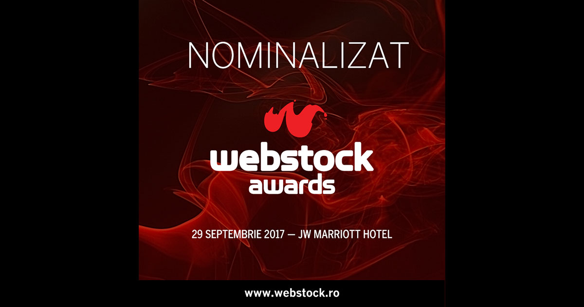 nominalizare webstock awards
